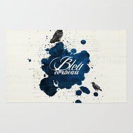 Bleu Corbeau Rug