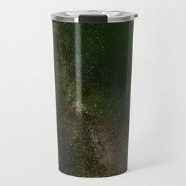 Aurora Borealis Milky Way Travel Mug