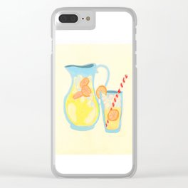 Southern Hygge: Lemonade Clear iPhone Case