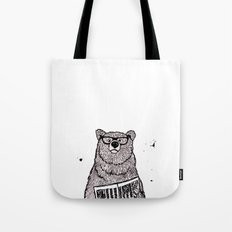 Smarter than the average... Tote Bag