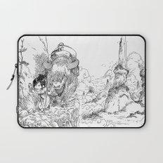 Promenade dans la montagne - Walking in the mountains Laptop Sleeve