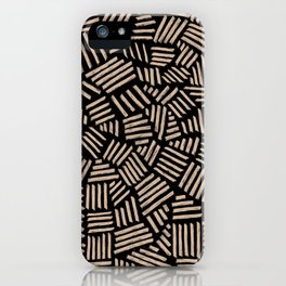 Hatch Black  iPhone Case