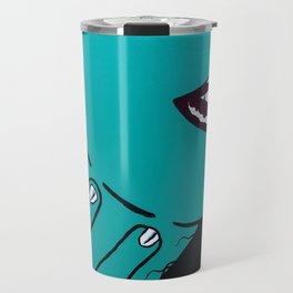 Who's that Girl-Green Travel Mug