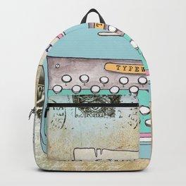 Typewriter #3 Backpack