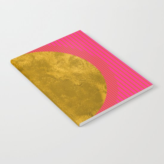 Abstract Sunset Notebook
