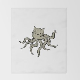 minima - octopuss Throw Blanket