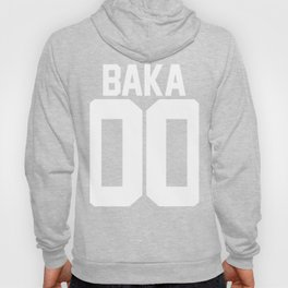 Team Baka Inspired Shirt Hoody