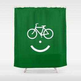 Bike Lane :) Shower Curtain