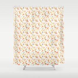 Honeycomb - Sweet Cream Shower Curtain