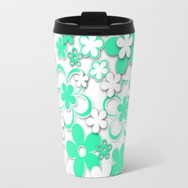 Paper flowers 2 Travel Mug
