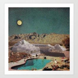 Utopian Biosphere Art Print