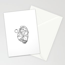 Grenade Heart Stationery Cards