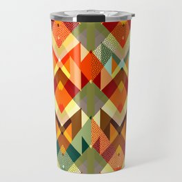 Abstract geometry Travel Mug