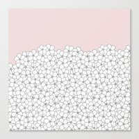 Forget Pink Boarder 2 Canvas Print