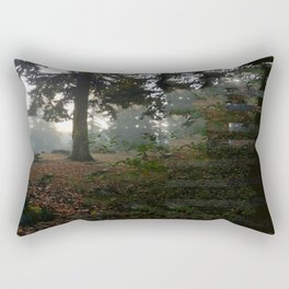Divided In Fall (There Are No Picnics Here) Rectangular Pillow