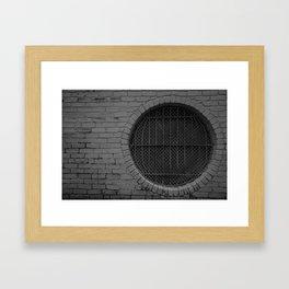 Sealed Portal Framed Art Print
