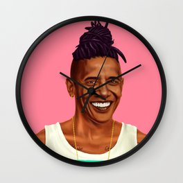 Hipstory - Barack Obama Wall Clock
