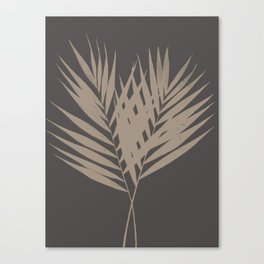 Palm Leaves #7 #foliage #decor #art #society6 Canvas Print