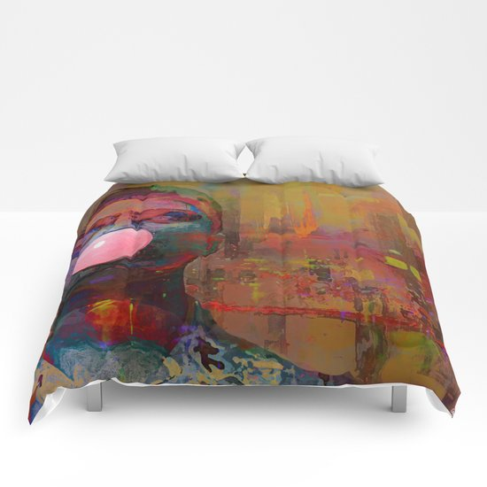 bubble gum  boy Comforters