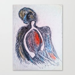 The Wishbone and the Turkey God Canvas Print