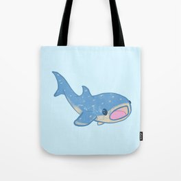 Shocked Little Whale Shark Tote Bag