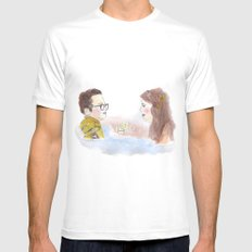 Sam and Suzy, Moonrise Kingdom Mens Fitted Tee White SMALL
