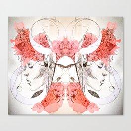 Organic Geometry Canvas Print