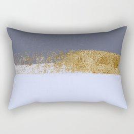 Azure and golden skies Rectangular Pillow