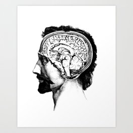 Head of David Art Print