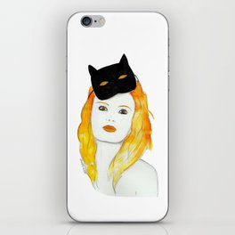 Be a cat iPhone Skin