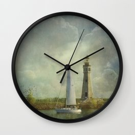 Guided by Love Wall Clock