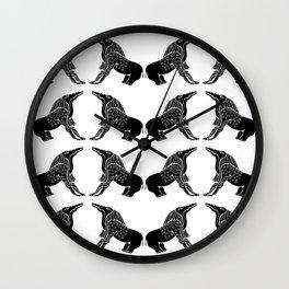 Demon Of Ancient Egypt - Bone Eater Wall Clock