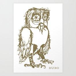 Bubo Art Print