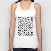movies Tank Tops featuring We love movies by Pinfloi