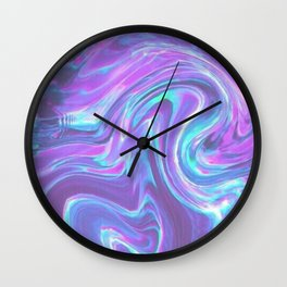 iridescent | bleu's creations. Wall Clock