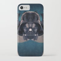 darth vader iPhone & iPod Cases featuring Darth Vader by lazylaves