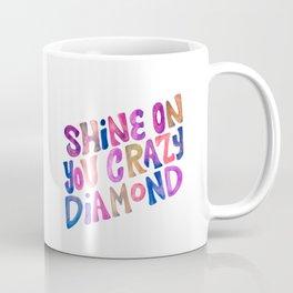 Shine On Your Crazy Diamond – Vintage Palette Coffee Mug