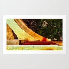 Wave Wall II Art Print