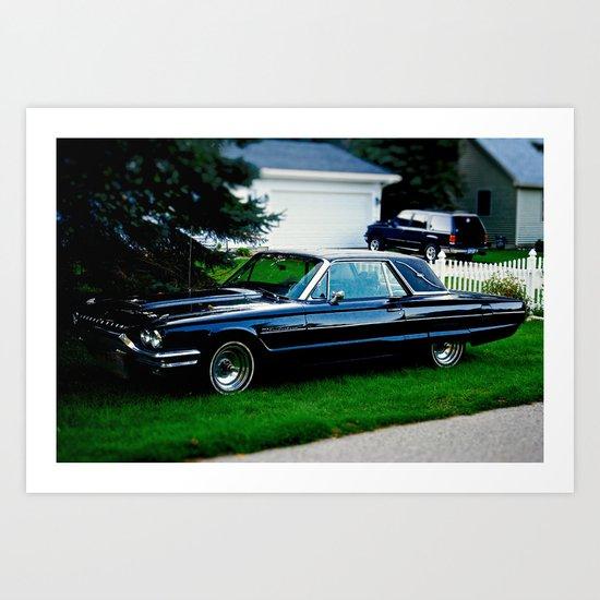 Ford Thunderbird Art Print
