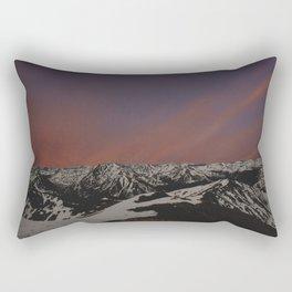 Sunset on Elbert Rectangular Pillow