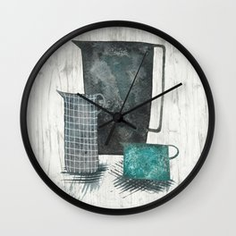 Three jugs Wall Clock
