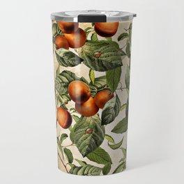 Vintage Fruit Pattern Travel Mug