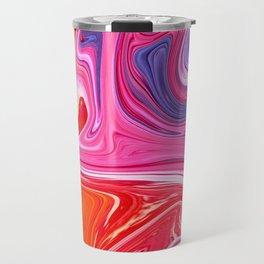 Abstract marble Travel Mug