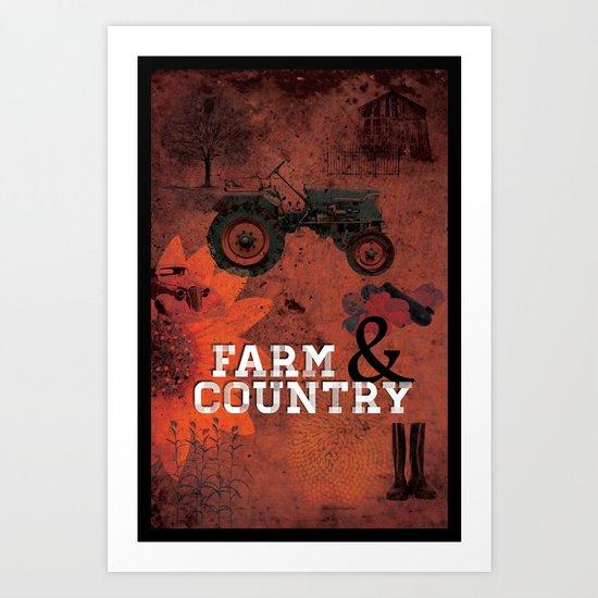 Farm & Country Art Print
