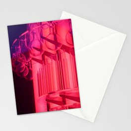 Pink Glass Stationery Cards