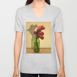 Calla lilies in bloom Unisex V-Neck
