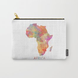 Africa map 2 Carry-All Pouch