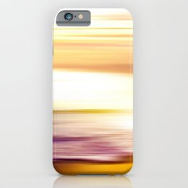 The Great Salt Sea Golden Landscape iPhone Case