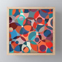 Crowded place Framed Mini Art Print