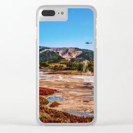 Bear Resort: Caldera Uzon Clear iPhone Case